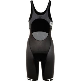 Bioracer Bathing Combinaison de triathlon Femme, black/flamingo